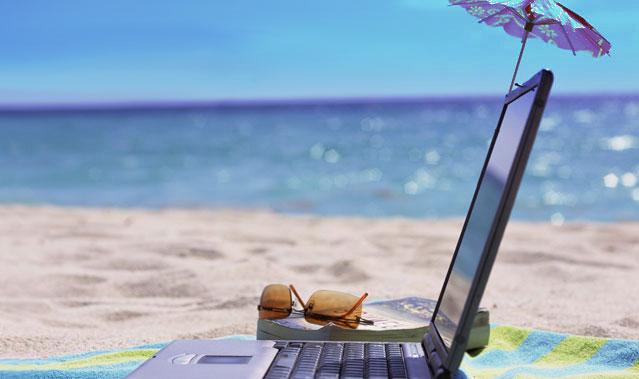 Softphone-on-laptop